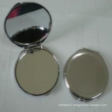 Miroir de maquillage compact promotionnel (BOX-08)