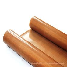 Paño de fibra de vidrio recubierto de PTFE antiadherente resistente al calor