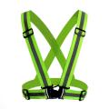 Светоотражающий жилет повышенной видимости, флуоресцентный зеленый