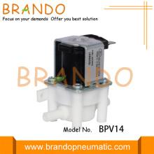 Válvula solenoide de ósmosis inversa de plástico con enchufe de 6,35 mm