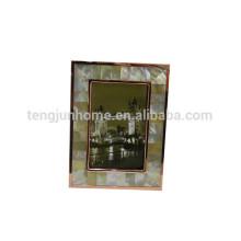 Dekorative Harz verzierten Bilder Rahmen Seashell Mosaik