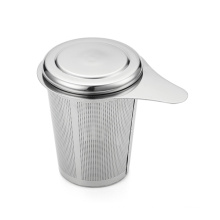 Stainless steel cup shaped tea infuser mug