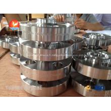 Souder le cou brides ASTM A182 F51 UNS S31803