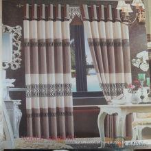 2015 venda quente de alta qualidade cortina de poliéster real e barato