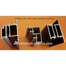 Perfis de janela e porta de alumínio