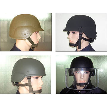 Palanca de NIJ Iiia UHMWPE casco a prueba de balas