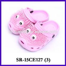 New design fashion colorful flip flop for kids eva slipper