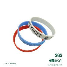 Verschiedene Farben Silikon Armbänder China Lieferant