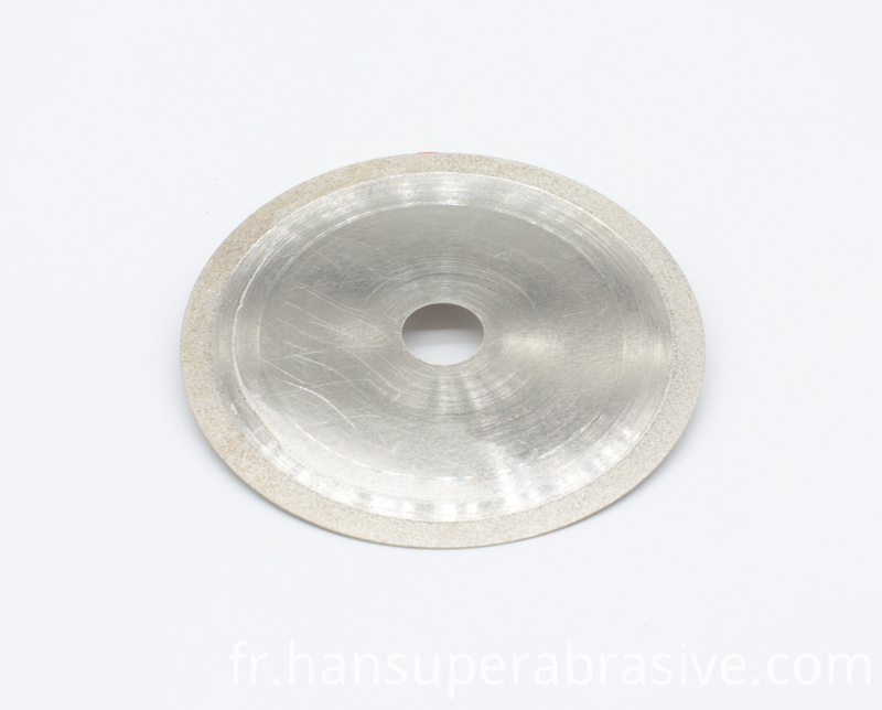 Red Thin Rim Sintered Saw Blade