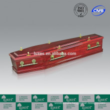 LUXES Wooden Coffin A60-GHP Popular Australian Style Coffin For Sale