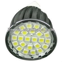 Qualidade superior 2700k 4.6w gu10 led smd spotlight