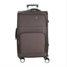 Polyester Soft Built-in Trolley Travel Luggage Box