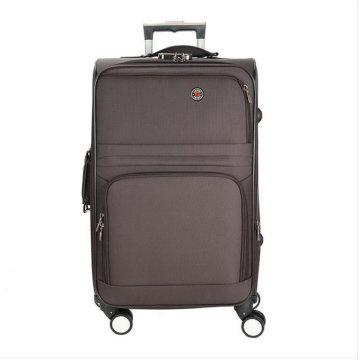 Boîte à bagages de voyage à roulettes en polyester souple