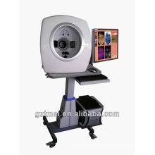 High quality 3D magic Mirror 15 mega best skin analyzer with RGB+UV+PL skin test system