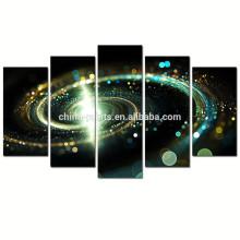 Arte contemporáneo de la pared de la lona de la galaxia / impresiones de Giclee del espacio exterior en lona / cartel cósmico abstracto de la nube cósmica