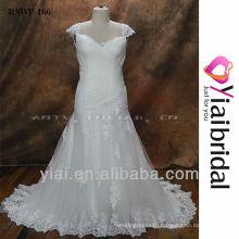 RSWP166 Cap Sleeve Wedding Dress