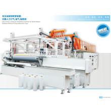 Машина для производства стретч-пленки в пластиковых экструдерах / ЛПЭНП