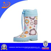 Light Blue Children Rubber Rain Boot 90309