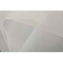 fusible interlining hdpe / white color collar interlining