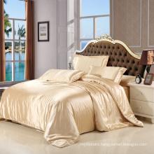Home Textile Satin Silk Fabric Bedding