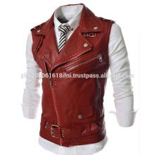 new cowboy classic design mens leather jacket and windbreaker warm jacket