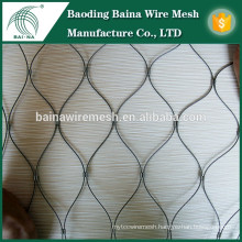 New Arrival Stainless Steel Wire Rope Mesh Fence Manufacturer