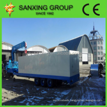 sanxing ubm 1000-550 metal cold roof roll forming machine /curve roof span roll forming machine