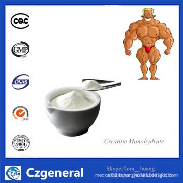 Supplément de poudre de monohydrate de haute qualité de créatine CAS 6020-87-7
