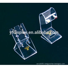 Small Clear Acrylic Earring Display