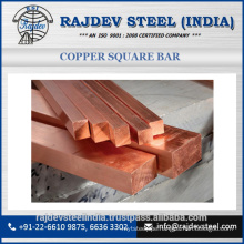 100% Pure Copper Square Bar for Factory use