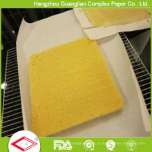 Предварительно вырезать 2 стороны силиконовая Бумага для выпечки 40cmx60cm в коробке