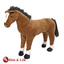 Treffen Sie EN71 und ASTM Standard Plüschtier Pferd gefüllte Tier Spielzeug