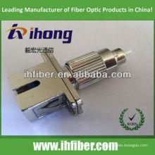 Adaptador de fibra hembra SC macho FC