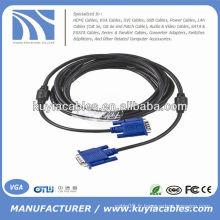 Câble VGA noir Premium Câble d'extension M à M