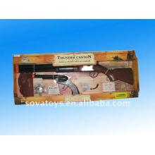 Más niños de diseño de juguete vaquero pistolas, pistolas dobles con pistolera