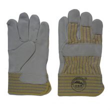 Cow Grain Leather Driver Working Gloves