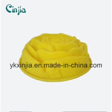 Molde do bolo do silicone da categoria do alimento / molde do bolo do silicone