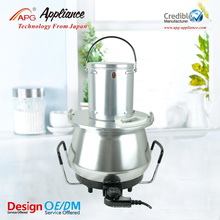 2 in 1 Mixing and Heating Stainless Steel Pot
