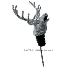 Hot Selling Animal Head Wine Pourer