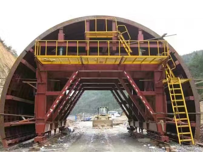 Tunnel Construction Trolley
