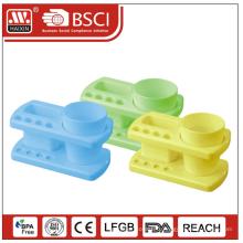 Brossez-vous les dents en plastique titulaire w/coupe
