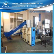 CE/SGS/ISO9001 PP PE película reciclaje y Pelletizing línea (SJ)