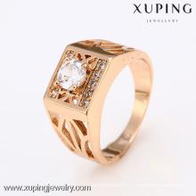 12418-Xuping meilleure vente moderne New Style or neutre anneaux bijoux