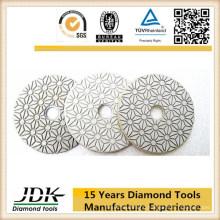 Hot Sell 3 Step Diamond Flexible Polishing Pads for Granite