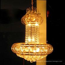 lustre élégant en or de lustre de lustre en cristal de k9 LT-70034