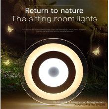 Iluminação de cristal redonda ultra magro moderna do diodo emissor de luz com Ce RoHS