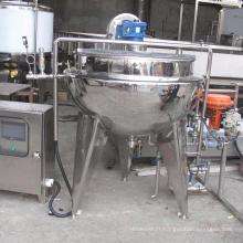 Prix commercial du lait en acier inoxydable, jus de fruits pasteurisateur