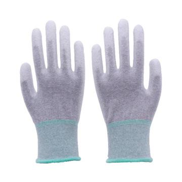 13 калибровочных бесшовных упор для рук из углеродного волокна и топ Фит с полиуретановым покрытием Антистатические перчатки ESD работая