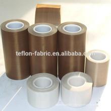 Rubans adhésifs à isolation thermique fibre de téflon avec adhésif en caoutchouc silicone