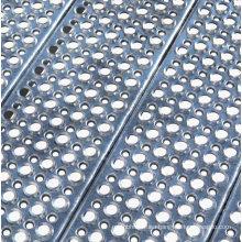 Anti-Skid O Grip Steel Grating Stair Tread Perforated Safety Metal Steel Bar Grating